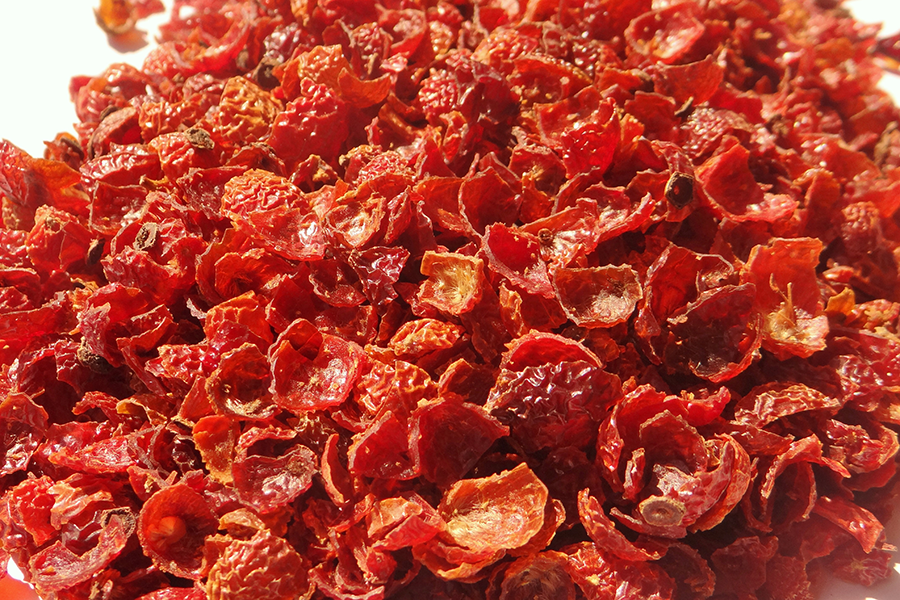 rosehip dried pulp